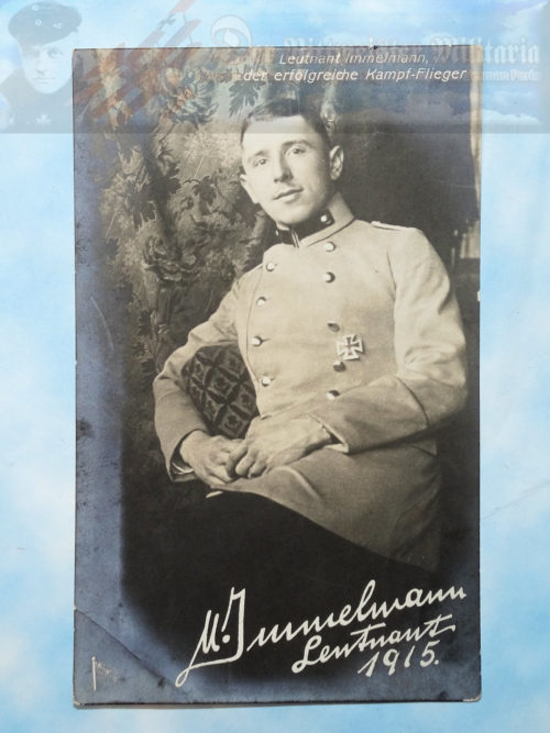 POSTCARD - MAX IMMELMANN - AVIATION