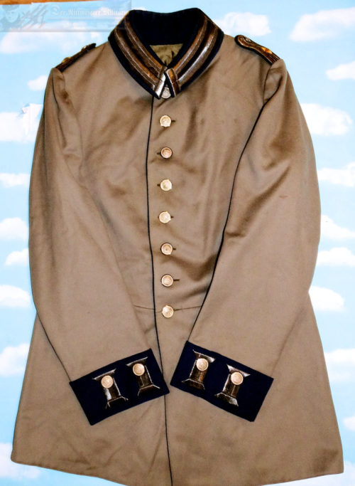 SOUTHWEST AFRICA - TUNIC - COLONIAL/HEIMETAT (HOME SERVICE) - OFFICER - FELDGRAU