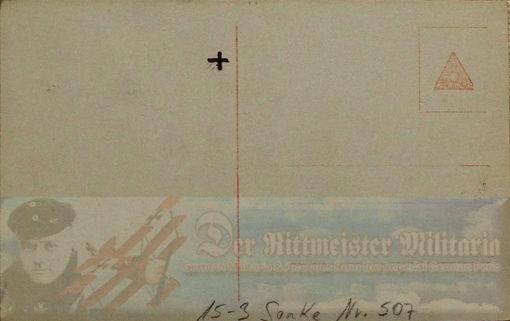 PRUSSIA - SANKE CARD - LEUTNANT KARL EMIL SCHÄFER - AVIATION - NR 507