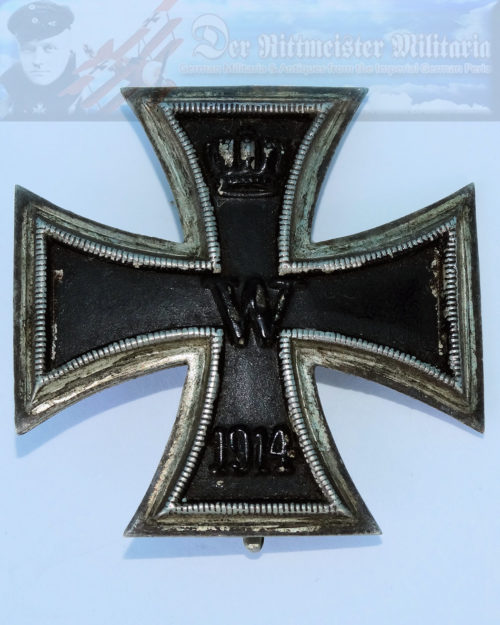 GERMANY - IRON CROSS - 1914 - 1st CLASS - SLIGHTLY VAULTED