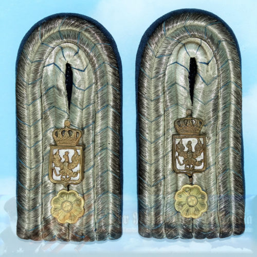 BAVARIA - SHOULDER BOARDS - NON MILITARY - FOR A COURT OR GOVERNMENT OFFICIAL