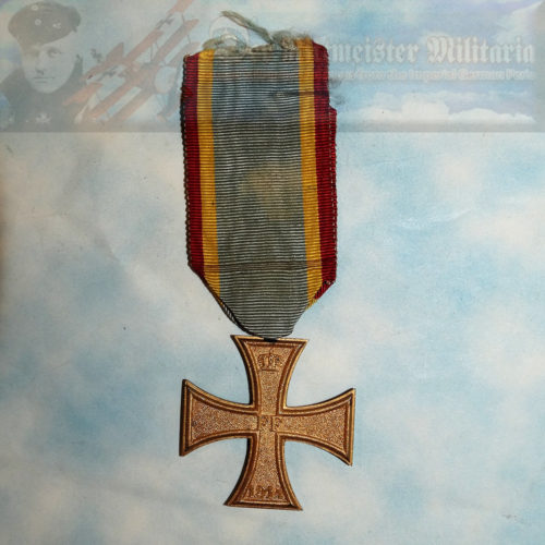 MECKLENBURG-SCHWERIN - MILITARY MERIT CROSS - 2ND CLASS - Imperial German Military Antiques Sale